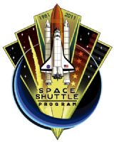 Space Shuttle End of Program 30 Years Commemorative Pin